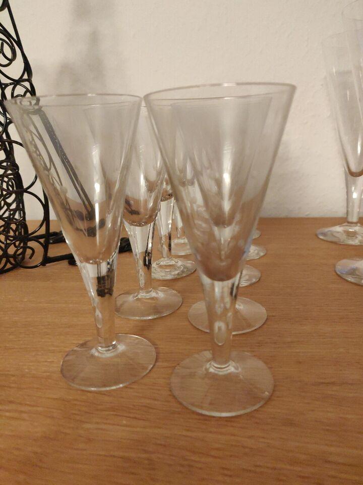 Glas, Rødvin+Portvin-Congak, Clausholm Holmegård