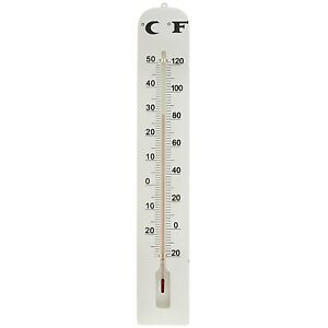 16-034-LARGE-INDOOR-OUTDOOR-WALL-THERMOMETER-Weather-Resistant-Hanging-Analog-Gauge