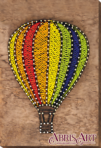 String Art Kit Flying Balloon Diy Art Craft Home Decoration Creative Gift Ebay