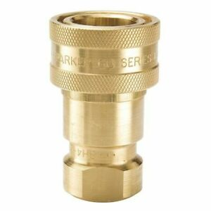 PARKER-BH2-60-Coupler-Body-1-4-18-1-4-In-Body-Brass