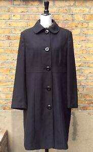 44 Uk jas 16 Debenhams Collectie zwarte Eur knielange Dames Sx6cnR8WqC