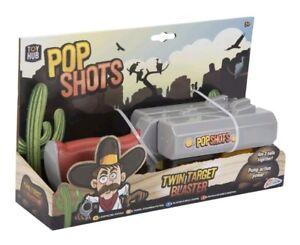 Wild-West-Gun-Toy-Children-s-Shotgun-Twin-Target-Shooter-Cowboy-Fancy-Dress