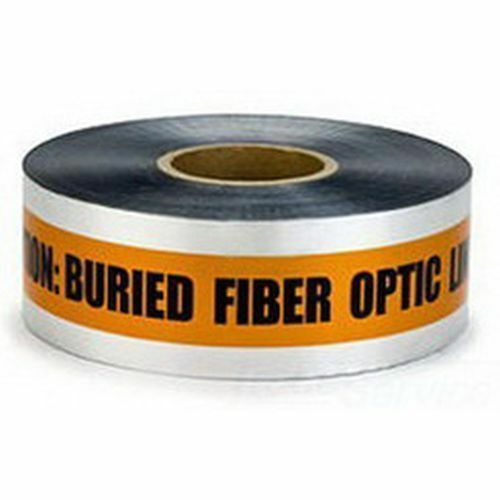 Scotch Detectable Buried Barricade Tape CAUTION FIBER OPTIC LINE BELOW 3  x1000