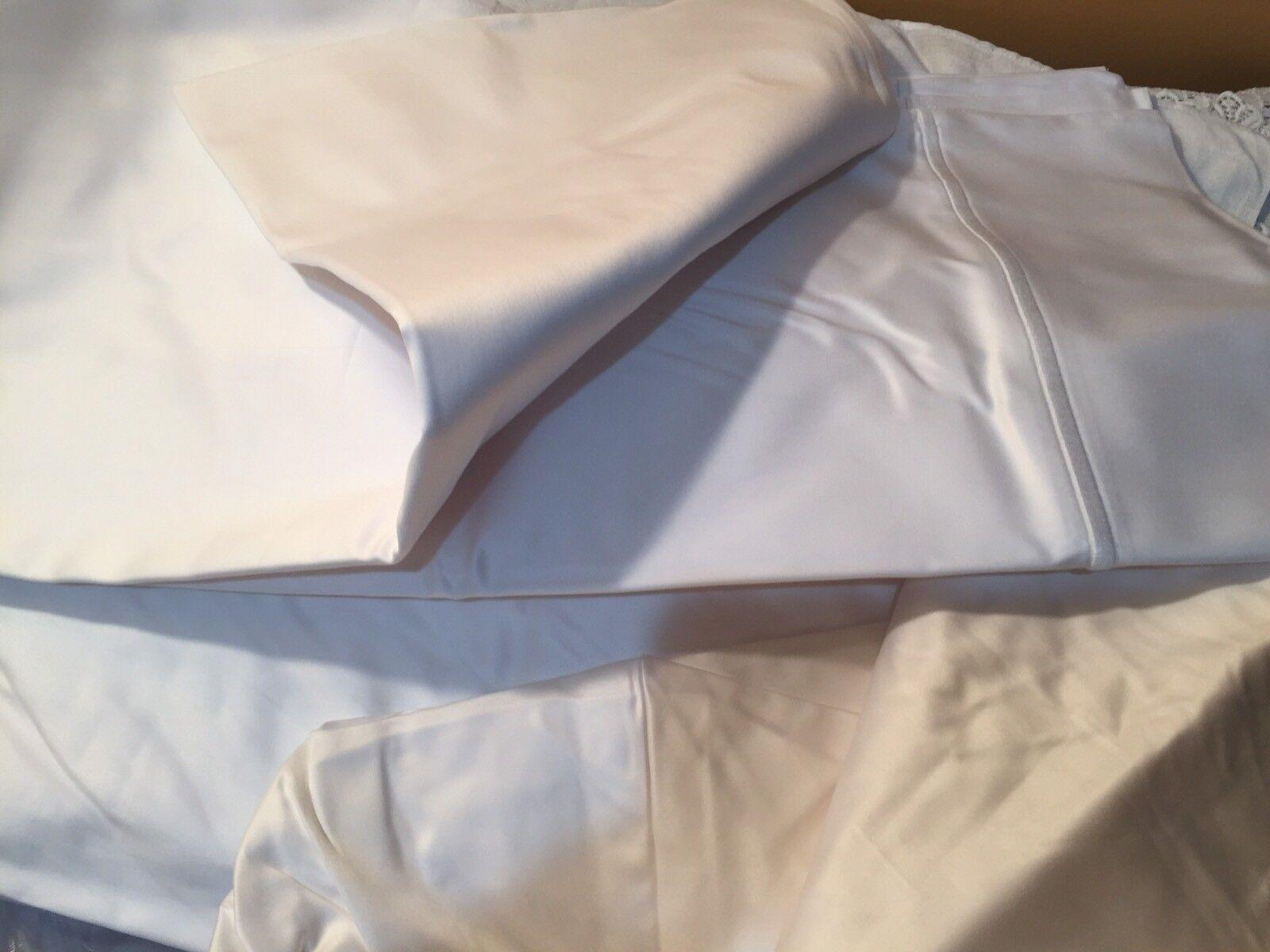 Bertelli Firenze  NWT 1000TC King Sheet Set 100% Cotton Italian 1020