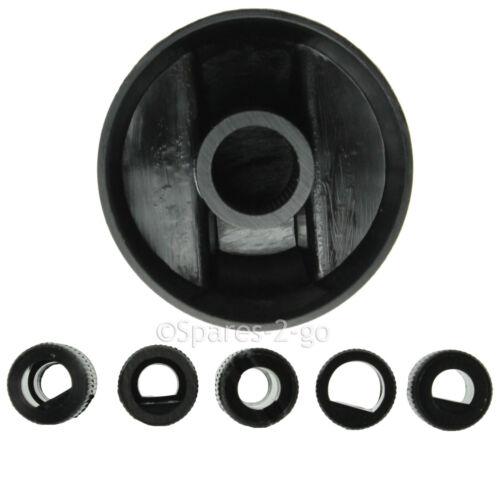 6 x noir AEG four cuisinière et plaque de cuisson Bouton de commutateur Complet Kit Adaptateur