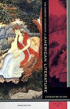 The Norton Anthology of American Literature: To 1820 v.A, Baym, Nina, Good Book