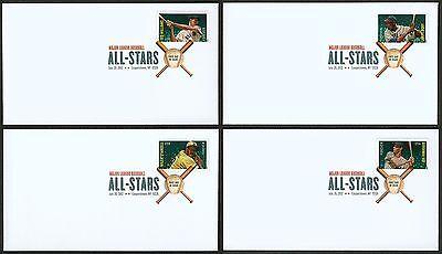 Verantwortlich #4694-4697 Mlb All-stars-july 20 Nordamerika Briefmarken Digital Farbe Fdc Any 4 = Aromatischer Charakter Und Angenehmer Geschmack