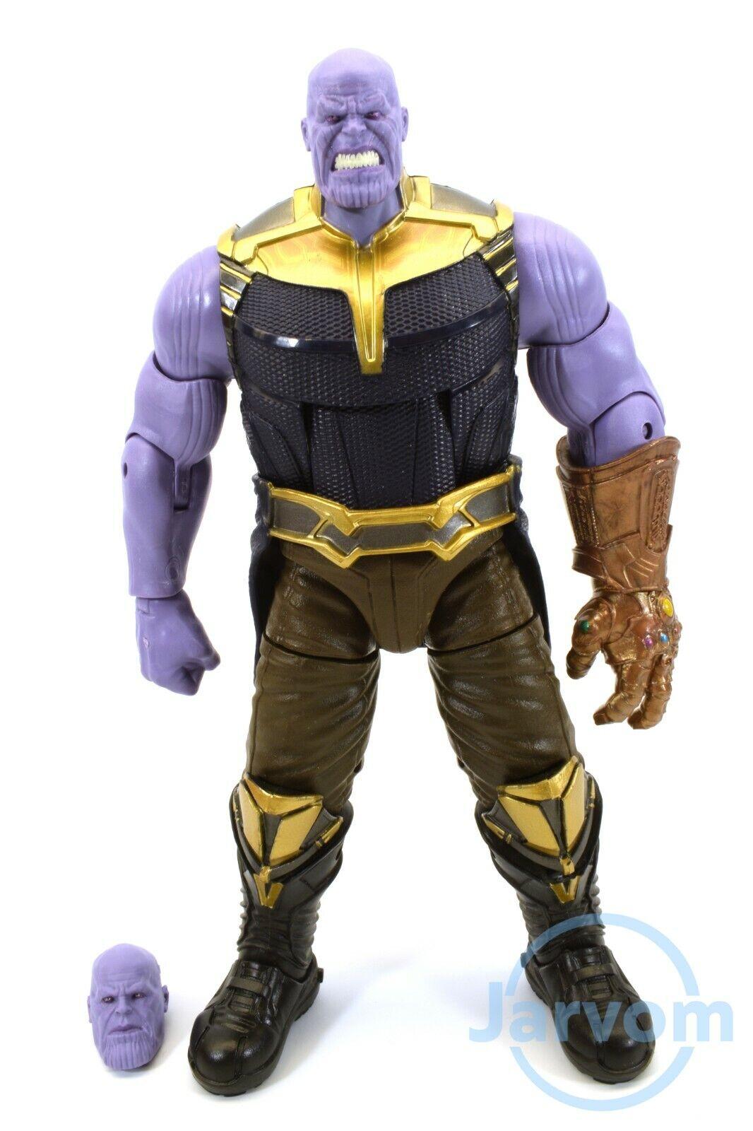 Marvel Leggende 6  Pollici Studios 10th Anno 3Pack Infinito Thanos Sciolto
