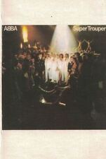 Super Trouper by ABBA Cassette 1980 Atlantic Recording Corp USA Columbia House