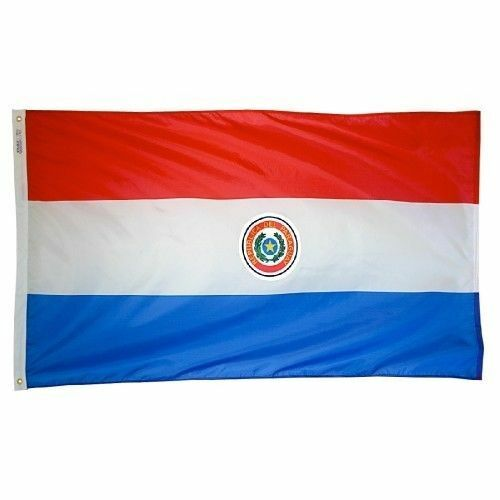 3x5 Paraguay Flag Country Banner South American Pennant Bandera Indoor Outdoor