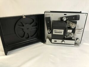 Bell-amp-Howell-Autoload-Model-461-Super-8-Projector-461-Works-w-Lamp-amp-Reel