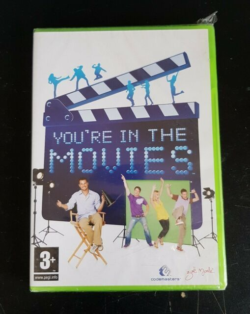 You're in the Movies - Xbox 360 Neuf