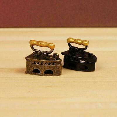 Decoration E9L2 1Pc Mini Black Umbrella For 1:12 Miniature Dollhouse Room
