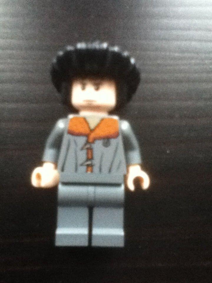 LEGO VIKTOR KRUM  Harry Potter Lego minifigure 4768 DURMSTRANG SHIP Rare