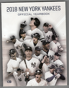 2018 New York Yankees official team yearbook! RARE! Brand New!