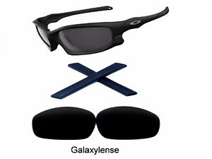 2e727409fe Image is loading Galaxy-Replacement-Lenses-Rubber-Kits-For-Oakley-Split-