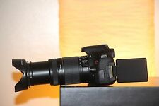 MINT Canon EOS Rebel T3i DSLR Camera with 18-55mm + 55-250mm (4 LENSES)