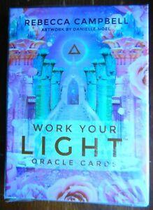 Mazzo Nuovo 44 Carte Work your Light Oracle Cards Rebecca Campbell DIVINAZIONE