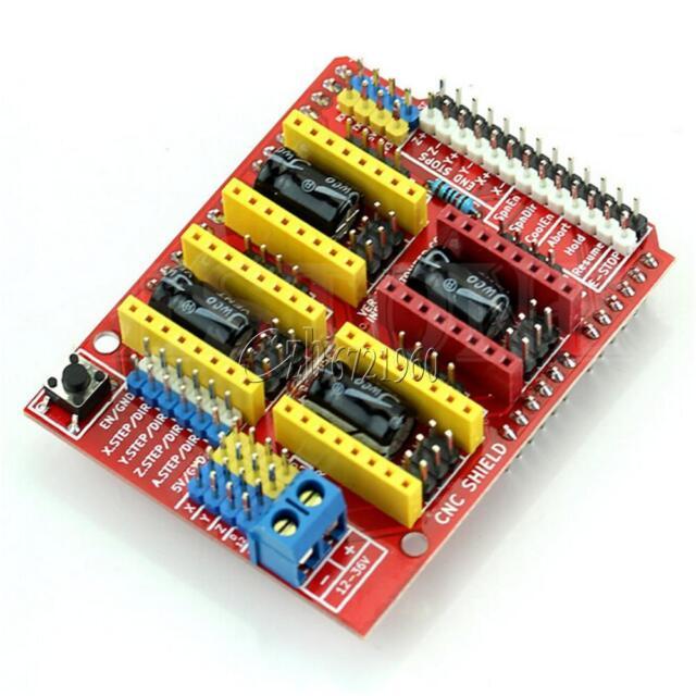 CNC Shield A4988 Driver Expansion Board for Arduino V3.0 Engraver 3D Printer TOP