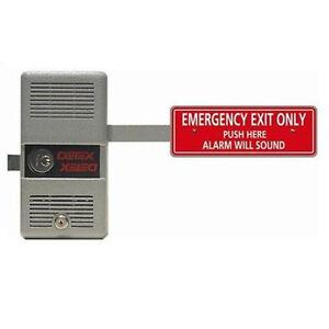 DETEX ECL 230D EXIT LOCK & ALARM W/ FREE RIM CYLINDER 691161357081 on panic hardware with alarm, dsc alarm, napco alarm,