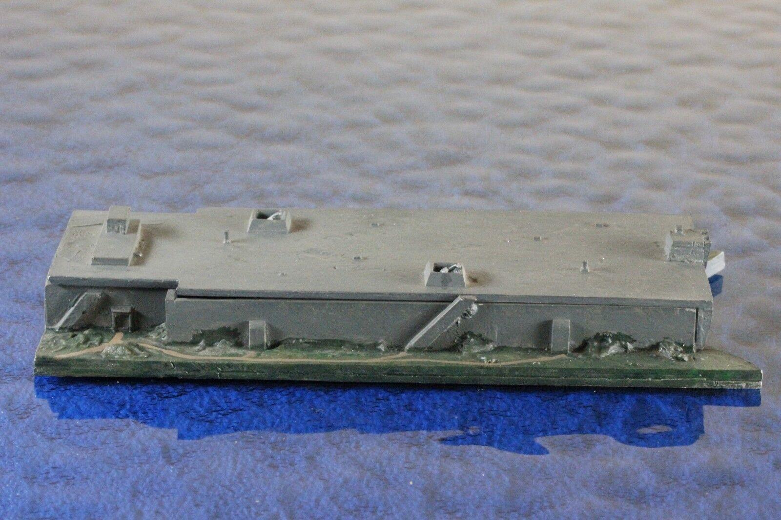 U-Boat Bunker Scorf manufacturer Welfia 20, 1 1250 Ship Model