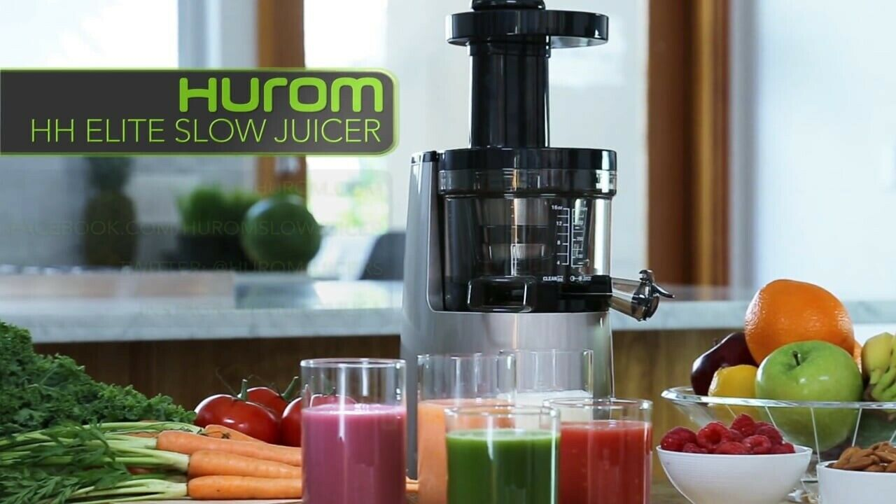 Rejuvenate Your Body and Mind With the Hurom HH Elite Slow Juicer~Wheatgrass