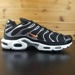 Details about Nike Air Max Plus TN SE Tuned Black Silver Orange CD1533 001 Men's Shoes