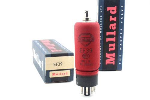 NIB x1 Valve Röhren NOS EF39 Mullard Vacuum Tube