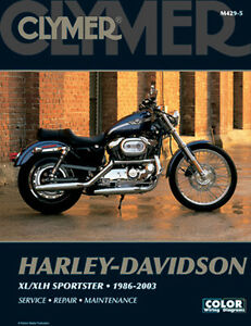 clymer repair manual fits harley davidson xl1200c sportster 1200 rh ebay com 2003 sportster 883 owners manual 2003 sportster 883 owners manual