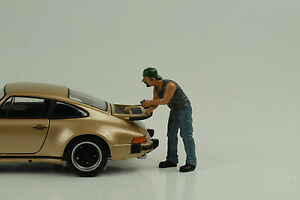 Hanging-hacia-fuera-Billy-Figuras-Figurines-1-24-American-Diorama-N-CAR