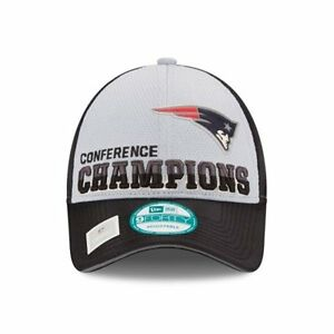 New Era New England Patriots Locker Room NFC Champions Trophy 9Forty ... b3b79a0e9