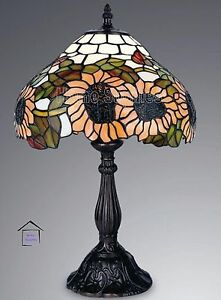 Swell Details About Buy Sunflower Design Tiffany Handcrafted Table Lamps 12 Inch Shade Uk Best Image Libraries Sapebelowcountryjoecom