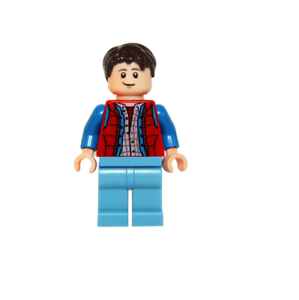 idea001 NEW LEGOMarty McFly FROM SET 21103 LEGO IDEAS CUUSOO