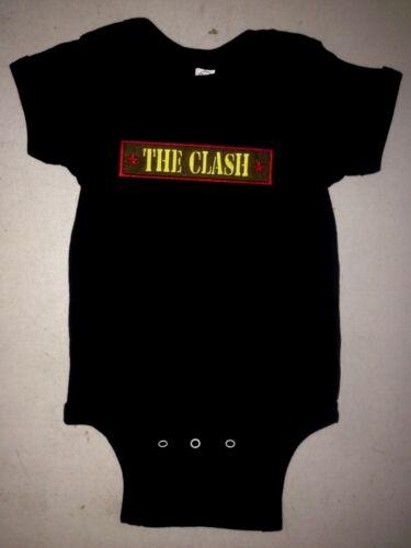 THE CLASH COMBAT ROCK  BABY ONE PIECE CREEPER PUNK ROCK T-SHIRT NEW