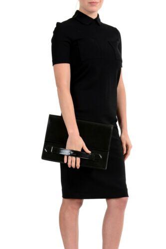 Tasche mann Clutch 100 Versace Schwarz Leder qxHTS8