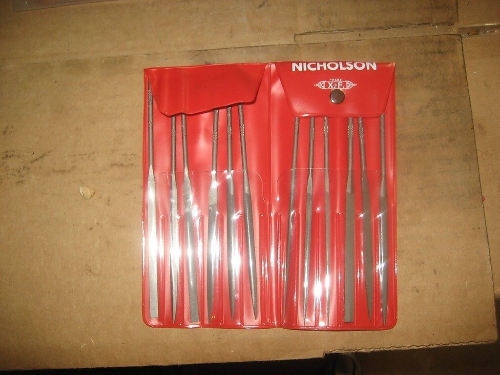 NICHOLSON 37773 6-1 4 NEEDLE FILE SET (LS1426-1)
