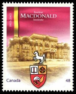 Canada-1976-VF-NH-MACDONALD-UNIVERSITY-New-Pristine-2003-Original-Gum