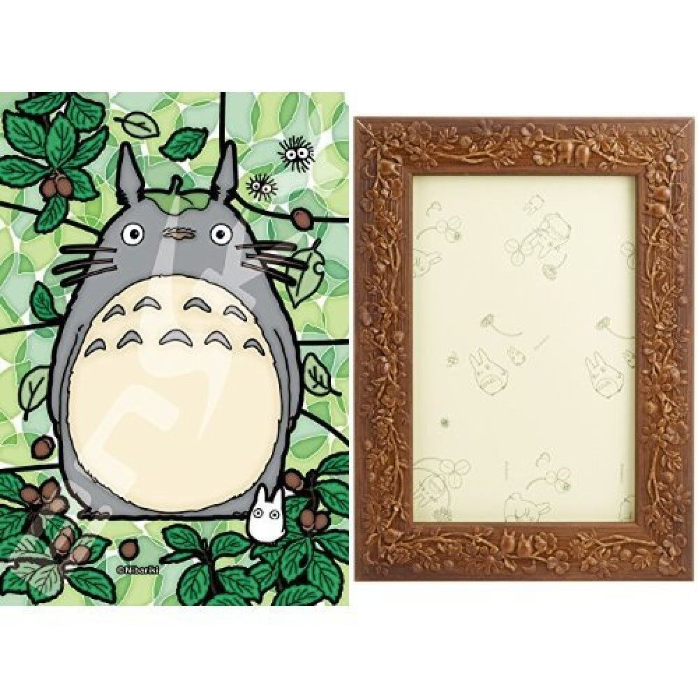 Studio Ghibli 126pcs Jigsaw Puzzle My Neighbor Totoro Art  Crystal frame SET  godendo i tuoi acquisti