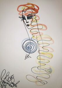 Margarita-Bonke-Malerei-PAINTING-erotica-EROTIK-Zeichnung-nu-art-Nude-Abstract