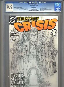 Identity-Crisis-1-CGC-9-2-2004-Diamond-Retailer-Summit-Promotional-Incentive