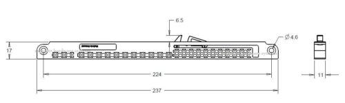 Soft Close Mechanism for pocket//Cavité portes coulissantes-UNIVERSEL-Allemand Qualité