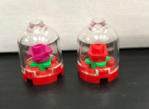 LEGO Encased Flowers Elements x2 Various Colors City Accessory