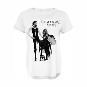 Fleetwood-Mac-Rumours-Girls-Women-039-s-New-with-Tags-T-Shirt-Top-Free-postage