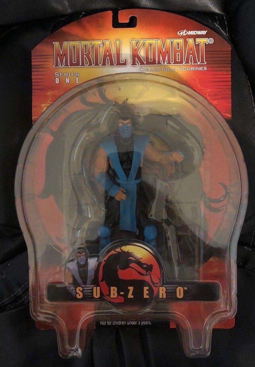 NEW Mortal Kombat Collectible Figurine One Sub-Zero (Series One, 2000) Palisades