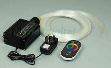 16W RGB LED Fiber optic light Star Ceiling Kit 0.75mm+1mm+1.5mm fiber optics 2M
