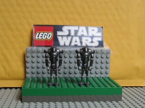 "STAR WARS LEGO LOT  MINIFIGURE  MINIFIG  /"" LOT OF 2  SUPER BATTLE DROIDS   /"""