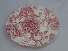 """Johnson Brothers English Chippendale Pink/Red  SALAD DESERT PLATE 6 1/4"""""""