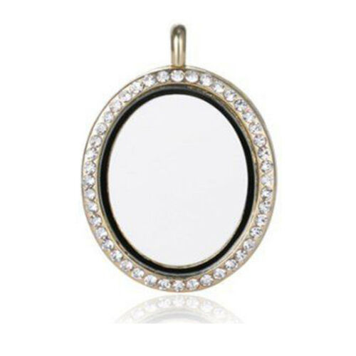 Wholesale 30mm Living Memory Floating Charm Glass Locket Pendant Necklace
