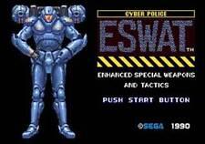 Eswat City Under Siege - Sega Genesis Game