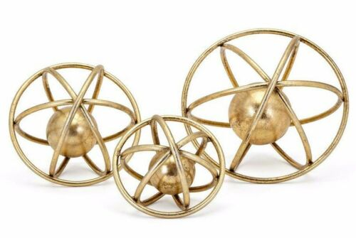 Set of 3 IMAX 64511-3 Home Decor High Design Accessories Galaxy Deco Balls